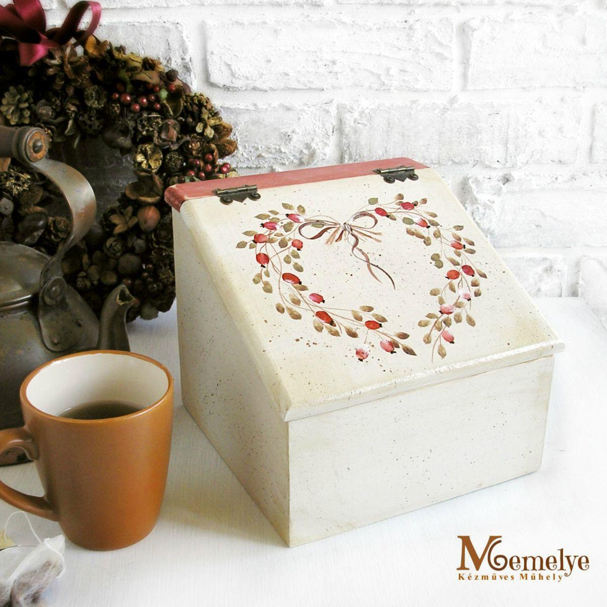 Csipkebogyó fa teás doboz