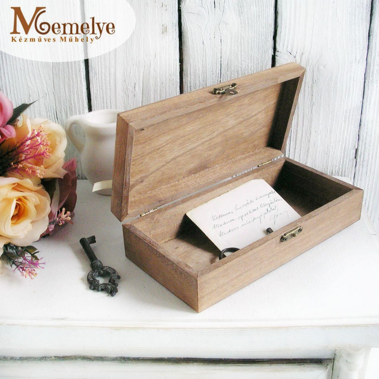 Magnólia pénzátadó doboz