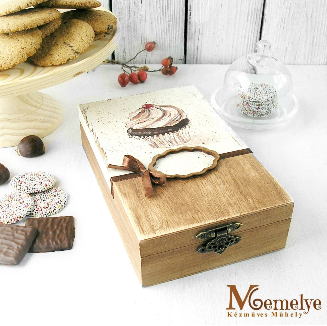 Muffin sütis doboz